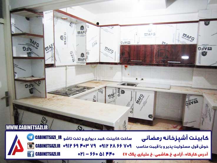 کابینت ایرانی چهاردانگه