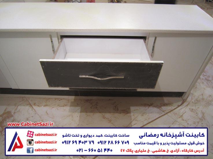 کابینت های گلاس MDF
