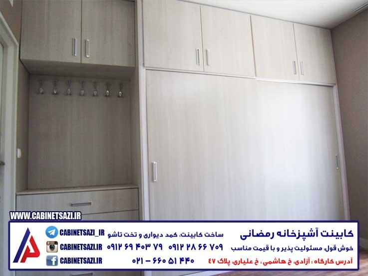 قیمت کمد دیواری تهران