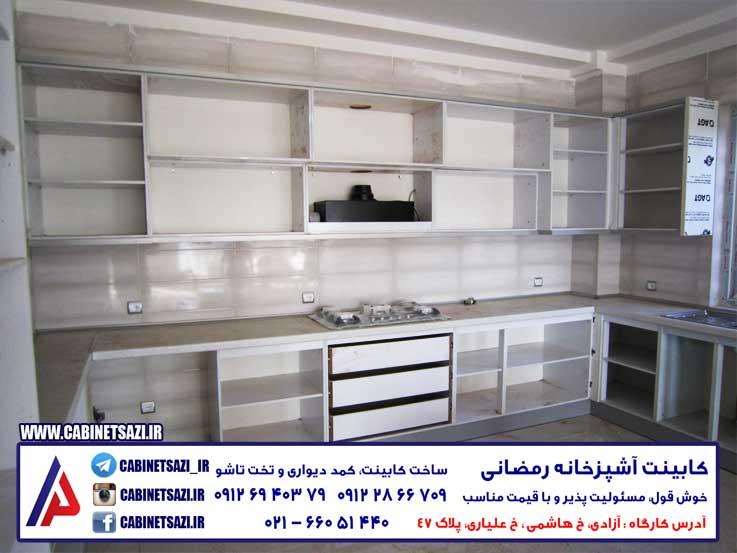 کارگاه کابینت سازی + آدرس + تهران + غرب+ بورس+عکس نمونه کار